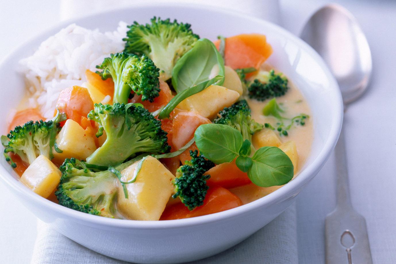schnelles Gemüsecurry