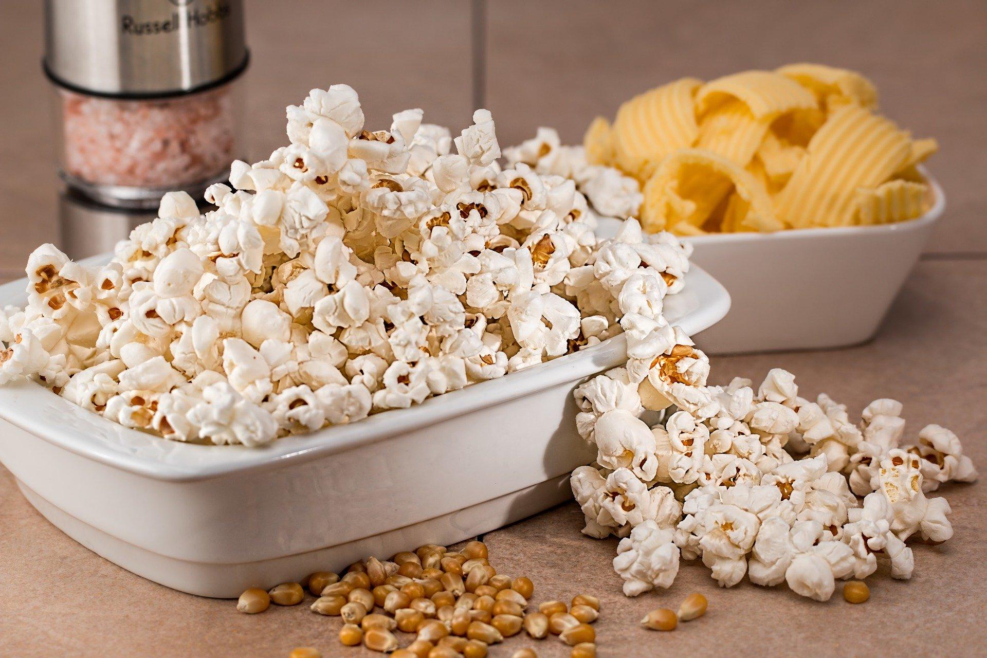 Gesundes Pina Colada Popcorn 1