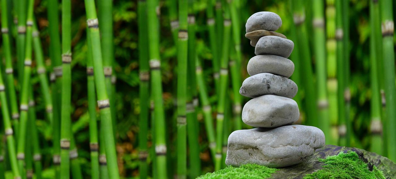2019 Bild Stress und Entspannung Entspannung Steine Zen