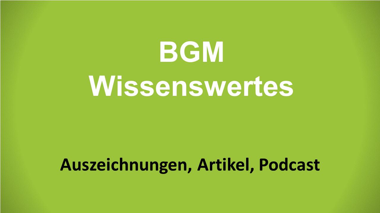 Zollner BGM Wissenswertes gruen